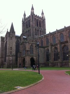 Hereford Cathedral - my cousin got married here.