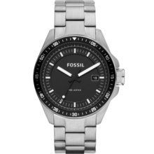 Fossil Men's AM4385 Stainless Steel Analog Black Dial Watch - http://www.bestwatchdeals.co/men/wrist-wtches/fossil-mens-am4385-stainless-steel-analog-black-dial-watch/ #AM4385, #Analog, #Black, #Dial, #Fossil, #Mens, #Stainless, #Steel, #Watch