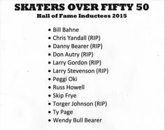 SOF - Skaters Over Fifty 50