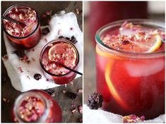 Hibiscus is SO very Egyptian. We call it 'Karkadeh' and just ask any Egyptian about it, and they will undoubtedly tell you about the dark ruby-red and sickly sweet tea we make out of it…