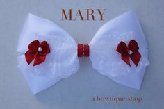 mary hair bow by abowtiqueshop on Etsy, $6.50 Mary Poppins