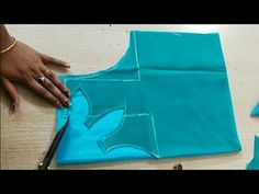 Neck design cutting and stitching for ,Kurtis, Blouse, kameez Latest Blouse Neck Designs, Chudidhar Neck Designs, Kids Blouse Designs, Neck Designs For Suits, Dress Neck Designs, Kurti Neck Designs, Bridal Blouse Designs, Lengha Blouse Designs, Circle Skirt Tutorial