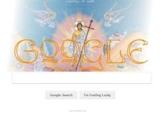 Google Doodle with Jesus Christ
