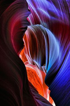 Nature photography by Joseph Rossbach- beautiful photo! Slot Canyon, Beautiful World, Beautiful Places, Lower Antelope Canyon, Best Photographers, Science And Nature, Natural Wonders, Nature Pictures, Land Art
