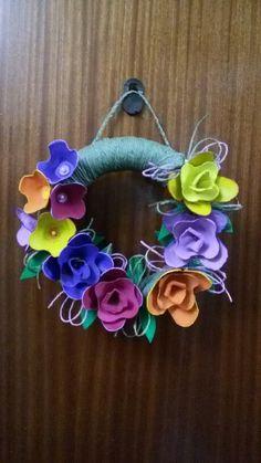 Flores con hueveras