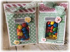 Oksana's Creative Corner: Treat with Jar of Love More
