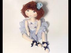 Patron poupée chiffon : Couture pour débutante - Partie 2 - YouTube