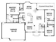 Floor plans mud rooms and mud on pinterest for 3200 sq ft ranch house plans