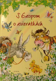 Viktorka's favourite book S Ezopom o zvieratkách.