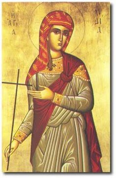 Saint Lydia of Philippi, the Equal to the Apostles Religious Images, Religious Icons, Religious Art, Byzantine Icons, Byzantine Art, Santa Lidia, Roman Church, Russian Orthodox, Catholic Saints