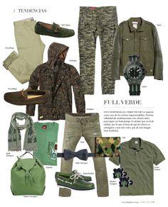Tendencias: Full Verde #Men #Fashion #Style #Winter #Green