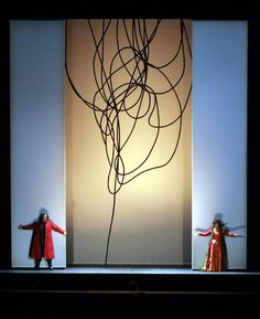Nabucco at Dallas Opera design by Frances Bagley and Tom Orr