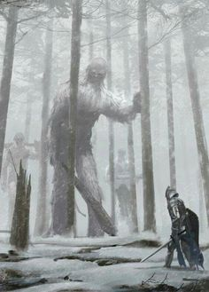 Hairy, scary giants