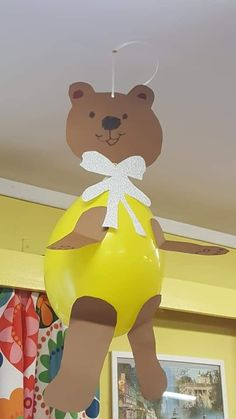 Teddy Bear Crafts, Teddy Bear Day, Foam Crafts, Diy And Crafts, Crafts For Kids, Goldilocks And The Three Bears, Beren, Bear Party, Baby Learning