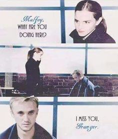 #DracoMalfoy #Draco #Malfoy #MalfoyDraco #HermioneGranger #Hermione #Granger #GrangerHermione #HarryPotter #SangreSucia #OTP