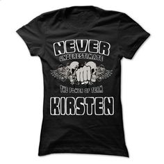 NEVER UNDERESTIMATE THE POWER OF KIRSTEN - Awesome Name - #old tshirt #pink sweater. ORDER HERE => https://www.sunfrog.com/LifeStyle/NEVER-UNDERESTIMATE-THE-POWER-OF-KIRSTEN--Awesome-Name-Team-Shirt-.html?68278