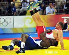 Mijaín López - Wrestling - Beijing Olympics 2008 - Mens 129kg Greco-Roman