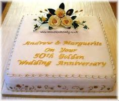 Square Stack 50th Anniversary Cake Yahoo Image Search Results