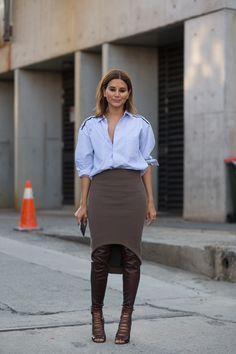 Christine Centenera #StreetStyle From Australian Fashion Week