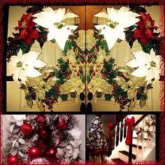 Xmas decorating 2015!❤️✨ #christmastime #christmas #christmas2015 #christmasdecor #design #decorate #designer #pittsburgh #interiordesign #aleeinteriordesign #family #home #holidays #homedecor #holidayfun #holidaydecor #xmas #glam #garland #wreaths #christmastree #love #ornaments #decor #homefortheholidays