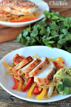 Paleo Southwestern Chicken with Peppers | www.joyfulhealthyeats.com