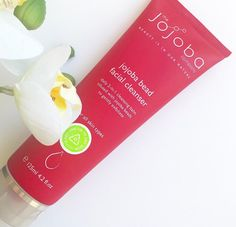 our top selling jojoba bead facial cleanser🌿  -deeply cleanses  -nourishes  -non-drying