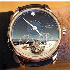 "3,362 Likes, 45 Comments - BEAUTIFUL MENSWATCHES (@beautifulmenswatches) on Instagram: ""Montblanc Heritage Chronométrie ExoTourbillon Minute Chronograph Vasco da Gama…"""