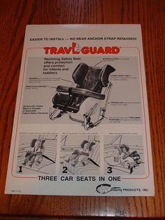 Service Merchandise 1978 79 Vintage Car Seats Pinterest