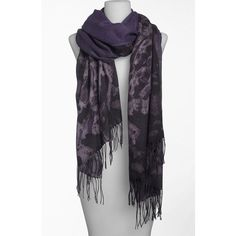 Nordstrom 'smudge Lace' Tissue Scarf ($98) ❤ liked on Polyvore