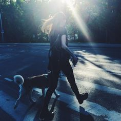 An easy way to style A-list: a cute dog and badass tattoos. #fashion #fullblack #blackoutfit #summerblack #tshirt #tee #skinnyjeans #backpack #leatherarmband #combatboots #tattoos #badasstattoos #cutedog #husky #walkingadog #listeningtomusic #eveninglight #stylealist #cutedogandbadasstattoos #streetstyle #tallinnstreetstyle #TSS