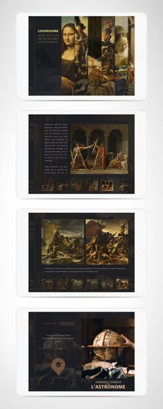 Louvrissime #App #Ui #Design #Louvre #Ux available in the App Store…