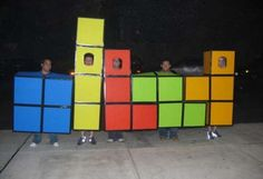 DIY Group Tetris Costume Will Earn You Lots of Candy - @Carmine Bermejo can you do this with me?!?!