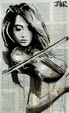 Fille qui joue du violon Www.numberonemusic.com/damienprojectfilmworks