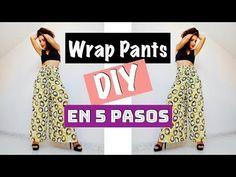 DIY   Wrap Pants en 5 pasos! - YouTube Sewing Pants, Sewing Clothes, Diy Clothes, Thai Hose, Pantalon Thai, Crochet Tutorial, Thai Pants, Pants Tutorial, First Sewing Projects