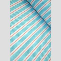Flannel Racer Stripes - Aqua - Children at Play by Sarah Jane - Michael Miller Fabrics Jane And Michael, Michael Miller Fabric, Pj, Flannel, Aqua, Fabrics, Stripes, Children, Tejidos