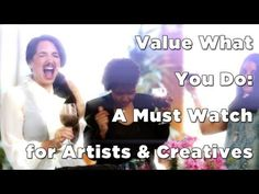 Value What You Do: A Must Watch for Artists & Creatives with Marie Forleo - YouTube