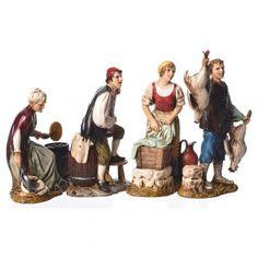 Figuras 4 profesiones belén Moranduzzo 12 cm | venta online en HOLYART Three Wise Men, Reggio, Christmas Carol, Bookends, Medieval, Dolls, Painting, Fictional Characters, Ideas Para