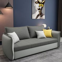 The best sleeper sofa & sofa transitional beds – Home Decor Living Room Decor Furniture, Space Saving Furniture, Living Room Sofa, Sofa Cumbed Design, Sofa Bed For Small Spaces, Best Sleeper Sofa, Folding Sofa, Home Office Design, Atelier