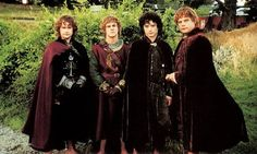 Pippin, Merry, Frodo & Sam return to The Shire - 'The Return of the King' (2003)