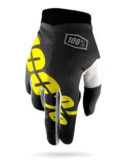 100/% Celium 2 Men/'s Full Finger Gloves Yellow//Black LG