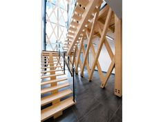View full picture gallery of Industrial Residues Technological Center (CTRI) Photos, Pictures, Architecture, Stairs, Gallery, Projects, Home Decor, Dire, Atrium