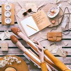 Base part of your world on your favorite novel or film 🧡 Flat Lay Photography, Book Photography, Christmas Gift Guide, Christmas Gifts, What's In My Purse, Flatlay Styling, Mood Boards, Storytelling, Photoshoot