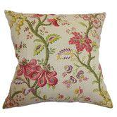 Found it at Wayfair - Quesnel Floral Linen Pillow