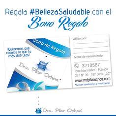 La #BellezaSaludable que la #DraPilarOchoa tiene como premisa puede ser uno de los mejores regalos que des a alguien especial. Comunícate con su consultorio y pregunta por el #BonoRegalo y las opciones que tiene.