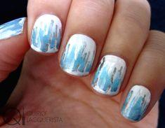 Icicles Nails! More at quirkylacquerista.wordpress.com