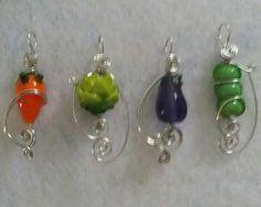 Vegetable pendants