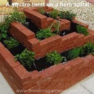 Spiral Garden! From Hometalk: As a urban gardener, I love ideas that help create more growing space,… :: Hometalk