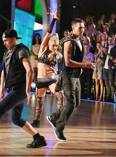 James Maslow and Peta Murgatroyd dance a Freestyle routine on #DWTS Week 10 (5/19/14)