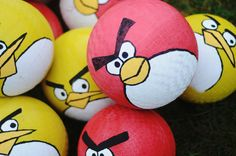 Once Wyatt said he wanted an Angry Birds birthday party, the ideas started flowing. I had my own thoughts and ideas, and I found inspiratio...