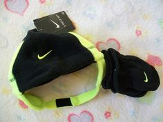 92b0218bc5a Nike Air Boy s Or Girls Kids  Michael Jordan Hat Beanie and Gloves Set Size